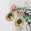 Hot Sale New Pear Shaped Earrings Emerald Earrings NHJJ190973