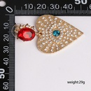 New Jewelry Fashion Heart Stud Earrings Creative Diamond Eye Jewelry Earrings NHJJ190981