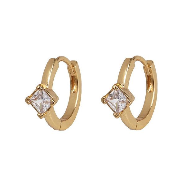 Popular jewelry girls micro-set diamond earrings wild earrings NHJJ190986
