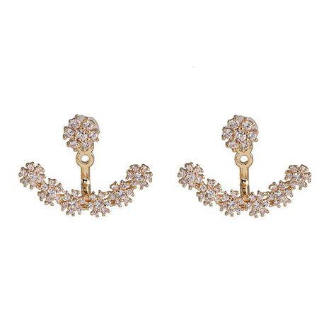 Pendientes simples de moda pendientes de diamantes geométricos femeninos pendientes calientes NHJJ190987's discount tags
