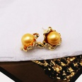 NHOM522980-Champagne-925-Silver-Stud-Earrings
