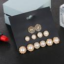 New earrings pearl earrings set female Korean ear jewelry NHSD191055