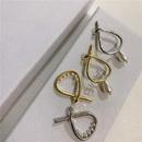 Water drop pearl earrings female pierced ears fashion simple creative rice pearl ear bone clip NHYQ191133