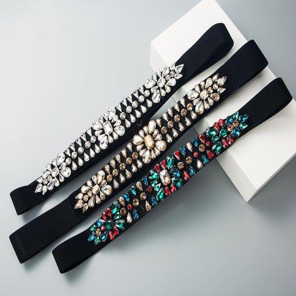 European and American fashion Za elastic belt female belt decoration dress waist accessories waist chain retro body chain NHLN191312