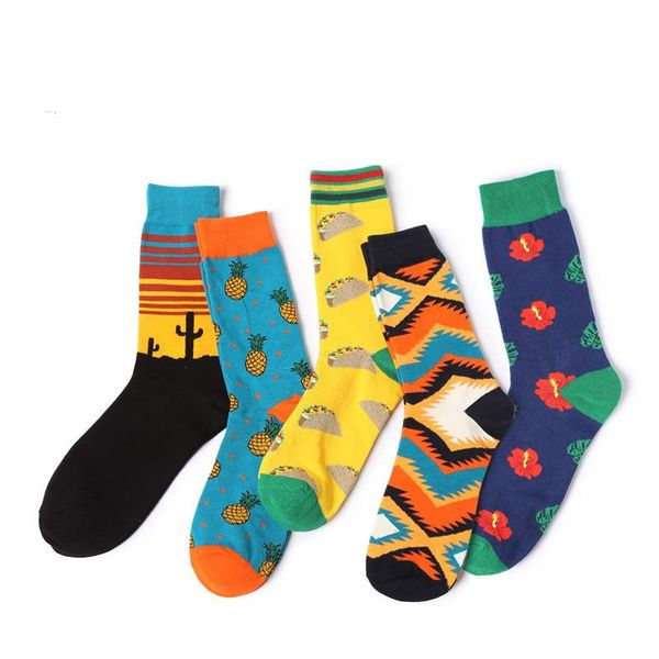 Autumn and winter models tide socks men's new cotton socks thick section wholesale NHQY184375