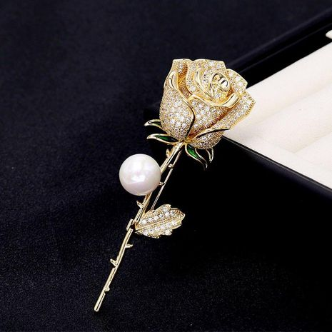Rose brooch corsage sweater accessories women coat pin cardigan coat accessories NHDO184283's discount tags
