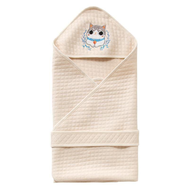 Newborn coated cotton newborn baby quilt baby supplies NHQE184332