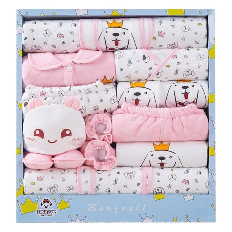 Newborn Gift Box Set Baby Clothes Cotton Spring Autumn Winter NHQE184314's discount tags