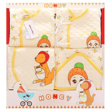 Baby clothes gift box autumn and winter newborn baby cotton suit gift box newborn NHQE184315's discount tags
