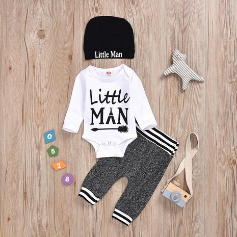 hot printed alphabet cotton fashion children's clothing wholesale NHYB184248's discount tags