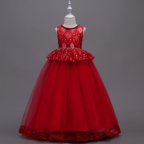 Nuevo vestido para niños Princess Costume Lace Evening Dress Tutu NHTY184222's discount tags