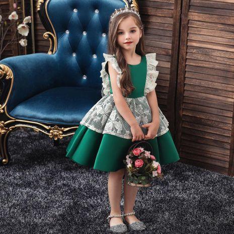 Filles princesse pettiskirt enfants robe enfants robe filles costumes de Noël NHTY184217's discount tags