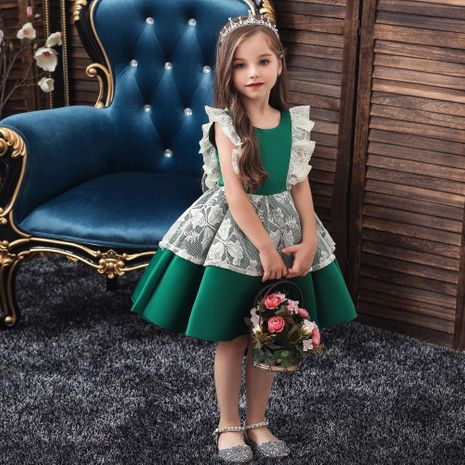 Girls princess pettiskirt children dress children dress girls Christmas costumes NHTY184217's discount tags