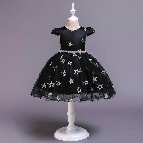 Nouveaux enfants robe filles princesse pettiskirt fleur fille Halloween Noël sorcière star costume NHTY184226's discount tags
