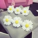 Korean hair accessories cute soft girl flowers small daisy hair ring hair rope NHSM184397