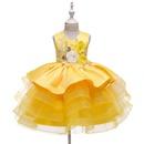 Nuevo vestido para nios vestido de princesa nias pettiskirt nia de las flores ceremonia de boda NHTY184297