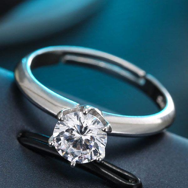 J484 Exquisite Korean Fashion Sweet Zircon Personality Ring NHSC184448