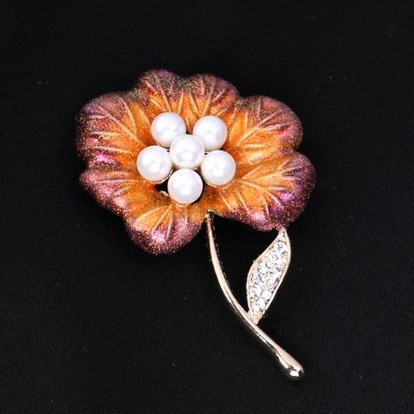 Broche plante fleur collier broche boucle boucle châle vêtements costume broches accessoires NHIM184513's discount tags