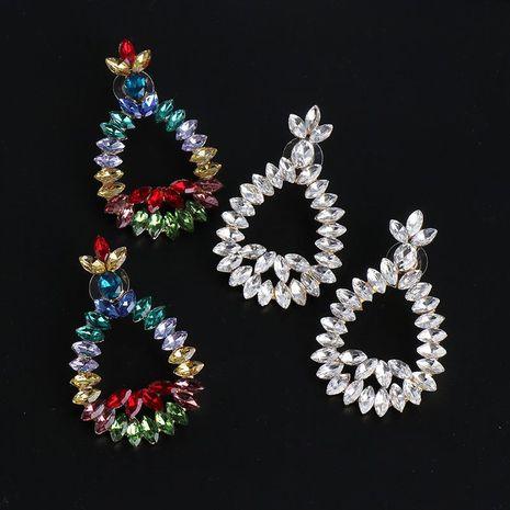 Nuevos pendientes geométricos pendientes largos de color pendientes mujeres NHJJ184683's discount tags