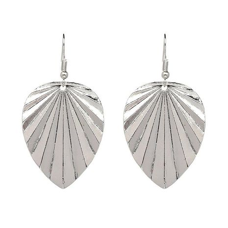 New style earrings selling leaf earrings fashion jewelry wholesale NHJJ184688's discount tags