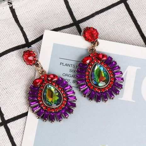 New geometric earrings color retro exaggerated earrings fashion earrings women NHJJ184685's discount tags