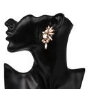 New stud earrings color diamond earrings fashion jewelry wholesale NHJJ184698