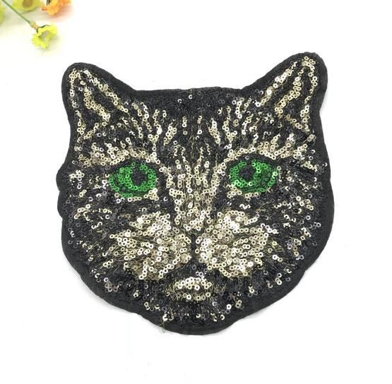 Clothes cloth patch patch embroidery sequins cute cat new special pattern t-shirt denim DIY stickers NHLT184849