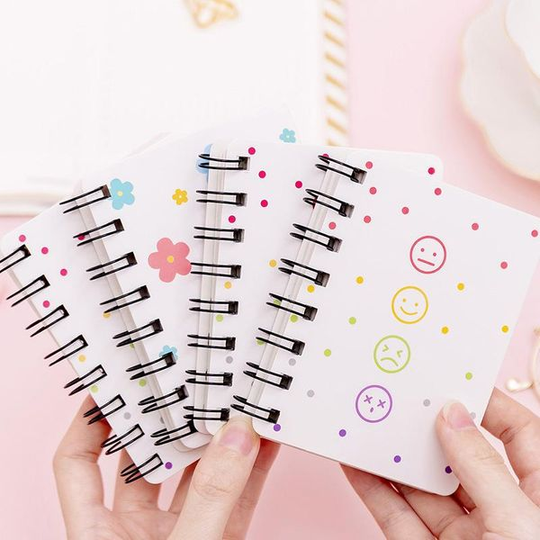 Learn life page rollover portable coil diary blank word memo notebook NHKU184766