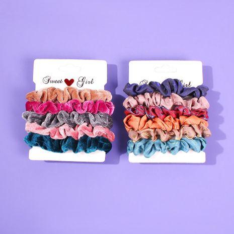 Satin hair ring chiffon hair rope bowel hair accessories NHMD184979's discount tags