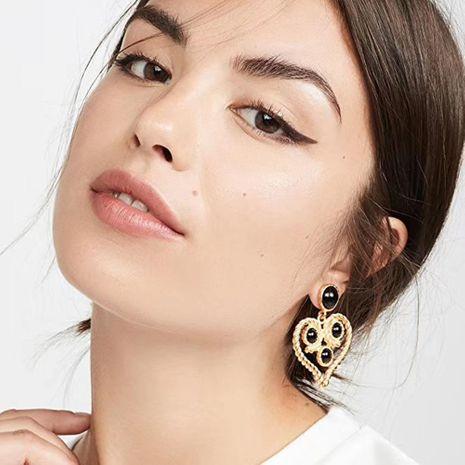 Romantic Love Colgante Clásico Elegante Pendientes de perlas de corazón NHMD184956's discount tags