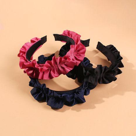 New headband hairpin flower fabric headband women NHMD184973's discount tags