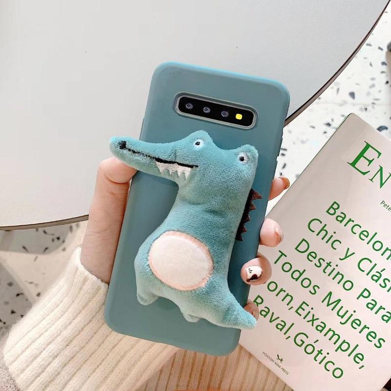 Funda para teléfono Samsung Note10 con mouse de felpa NHHC184783