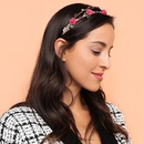 Baroque fashion hair hoop flower alloy headband hair accessory NHMD184992