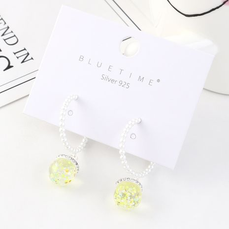Fashion earrings wholesale retro creative gold-plated small lantern S925 silver earrings NHPS185068's discount tags