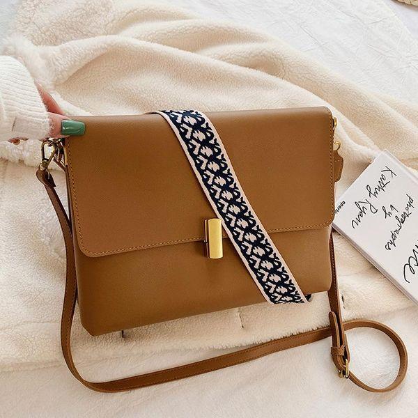 wholesale ladies bag winter new style messenger bag simple fashion shoulder bag NHTC185295