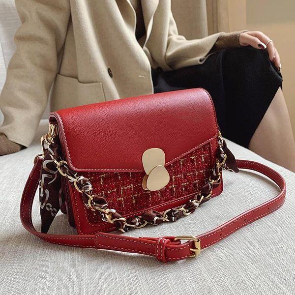 Wholesale bags women's new Korean retro messenger bag fashion western style small shoulder bag NHTC185305
