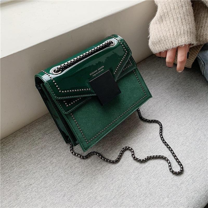 Venta al por mayor bolsos mujeres invierno nuevo coreano mensajero salvaje bandolera moda bolso cuadrado pequeño NHTC185215