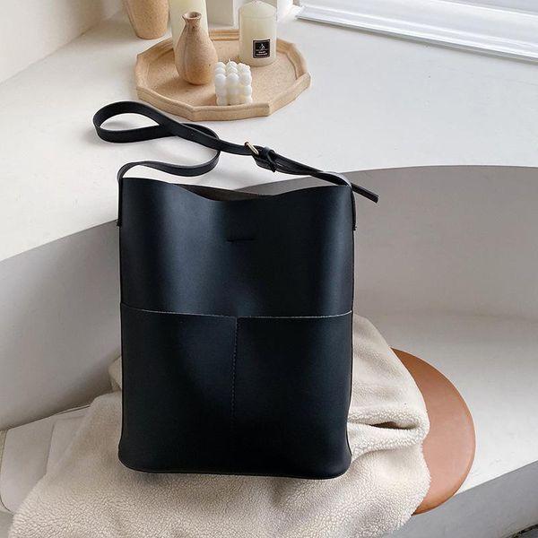 Wholesale bags women large capacity shoulder bag soft leather handbag NHTC185221