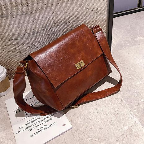 wholesale bags casual women's bags new fashion simple retro shoulder Messenger small square bag NHTC185227's discount tags
