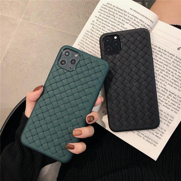 Woven pattern Huawei mate30 breathable heat dissipation p30pro soft shell s9 NHHC184729