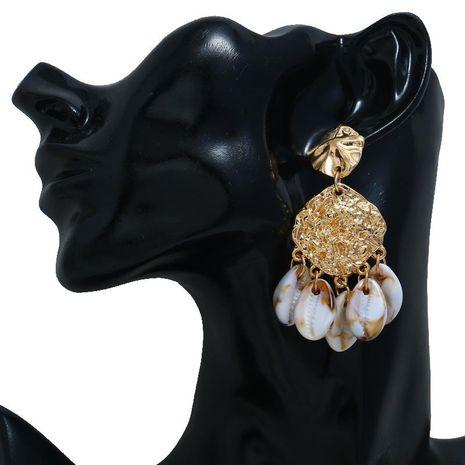 New fashion alloy beach wind natural shell fashion earrings bohemian earrings wholesale NHBQ185419's discount tags
