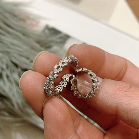 Micro inlaid zircons without pierced earrings NHYQ185670's discount tags