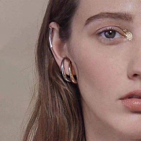 Minimalist Wild Irregular Notch C Niche Stud Earrings NHYQ185707's discount tags