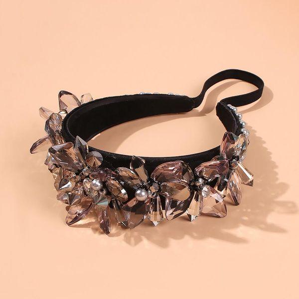 Colorful headdress headband fashion headband wholesale NHMD185456