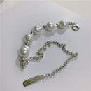 Shaped baroque pearl chain stitching necklace fashion necklace wholesale NHYQ185665