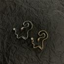 Ear pierced earrings earrings snake body earring copper earrings NHYQ185716
