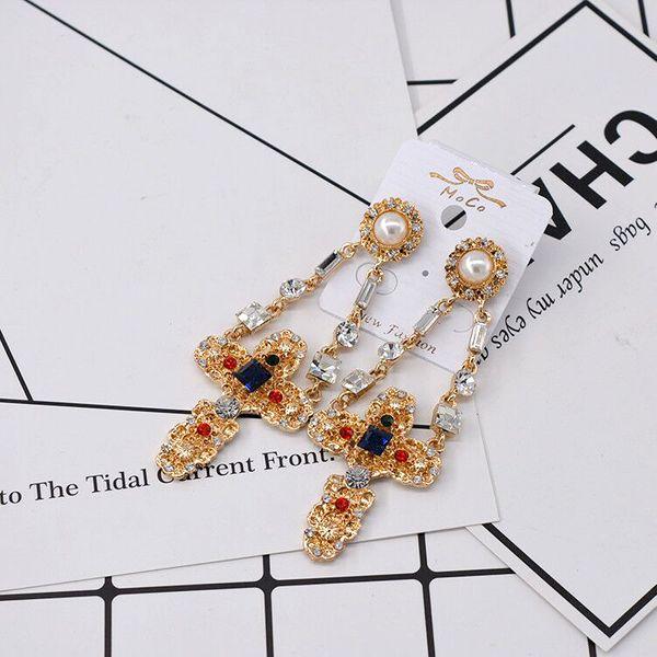 Alloy Vintage Geometric earring  (Alloy)  Fashion Jewelry NHNT0751-Alloy