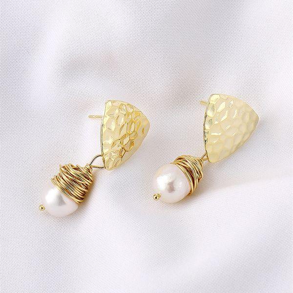 Beads Vintage Geometric earring  (Alloy)  Fashion Jewelry NHIM1625-Alloy