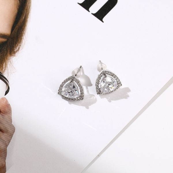 Zircon Vintage Geometric earring  (Alloy)  Fashion Jewelry NHIM1639-Alloy