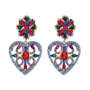 Alloy Fashion Sweetheart earring  (color)  Fashion Jewelry NHJJ5590-color's discount tags